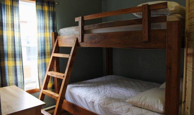Chambre à coucher double